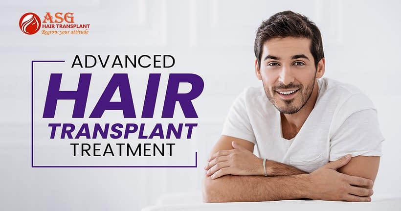 Advanced hair transplant treatment